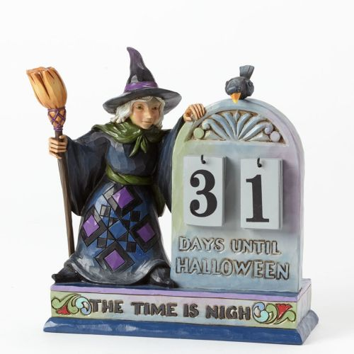 Jim Shore Beware The Witching Hour Halloween Countdown Calendar